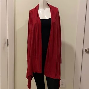 Draped cardigan